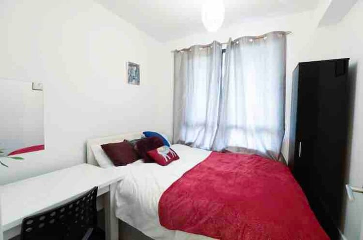 Private SmallDouble Bedroom at King's Cross St Pan