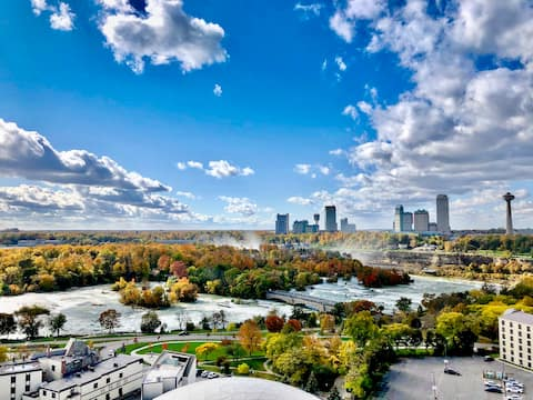 Stunning View Overlooking Niagara Falls State Park