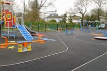 Ballinspittle playground is a fabulous new playground within walking distance of the boat.