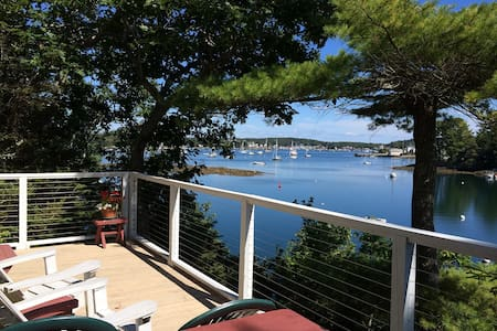 Pine Cottage at Harborfields on the Shore - Boothbay Harbor - Cabane
