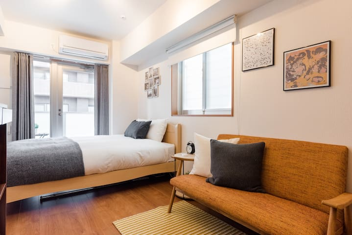 Cool & Convenient Shinjuku Parkside Home