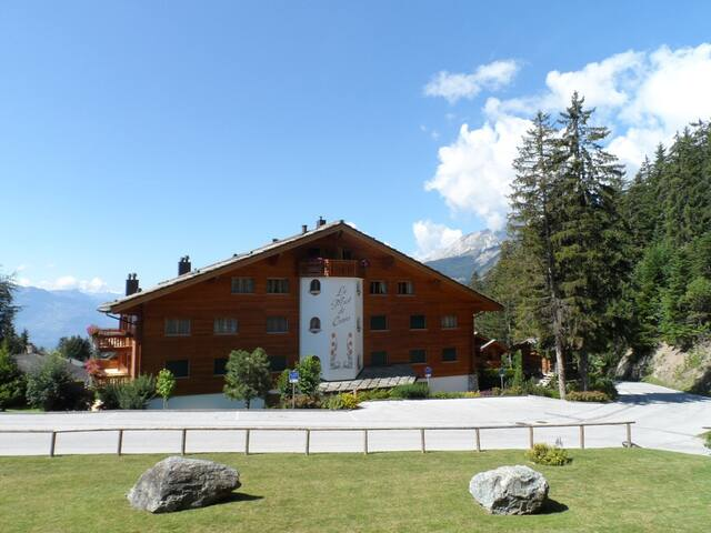 Beautiful apartment for 7 persons - Montana - Huoneisto