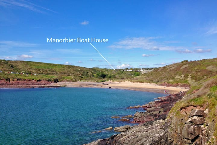 Manorbier Boat House