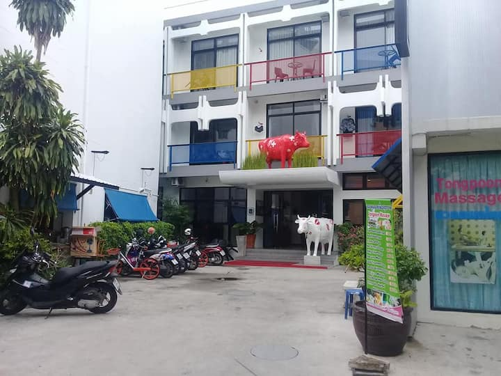 Hotel Montha, Double room with patio