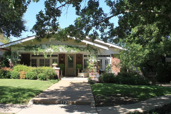 TCU/Medical District Guest Cottage