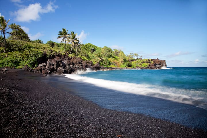 Luxury Villa/Playa La Arena/ Black Sand Beach