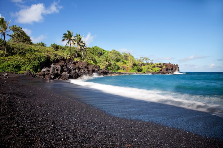 Luxury Villa/Playa La Arena/ Black Sand Beach