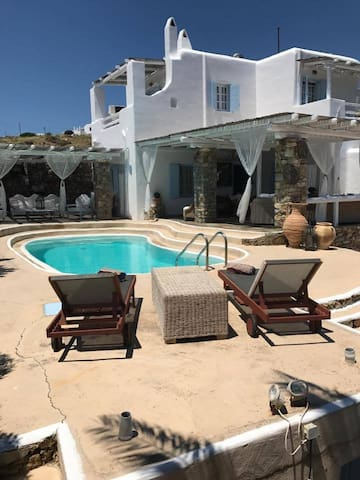 Private Pool & Villa at Kalafatis, Mykonos