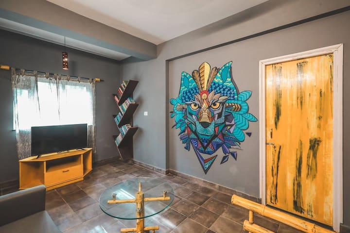 Studio room is Asssagao - Goa