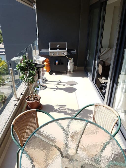 Lovely terrace, perfect for sunsets and BBQs