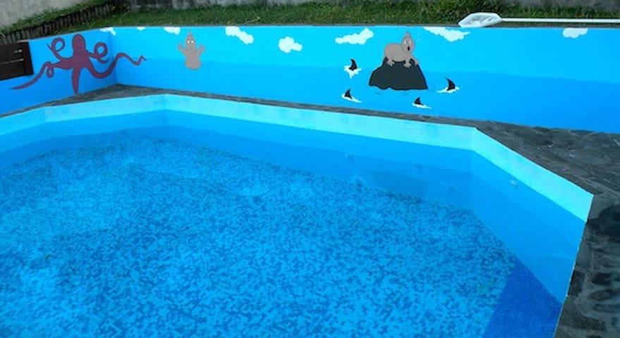 villa +bungalow+piscine