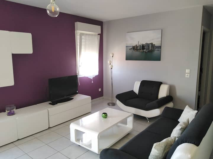 Bel appartement T3 tout confort à Amnéville