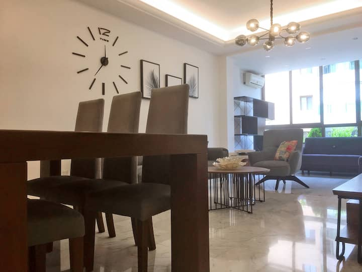 Fully Furnished modern apartment in Sanayeh Spears