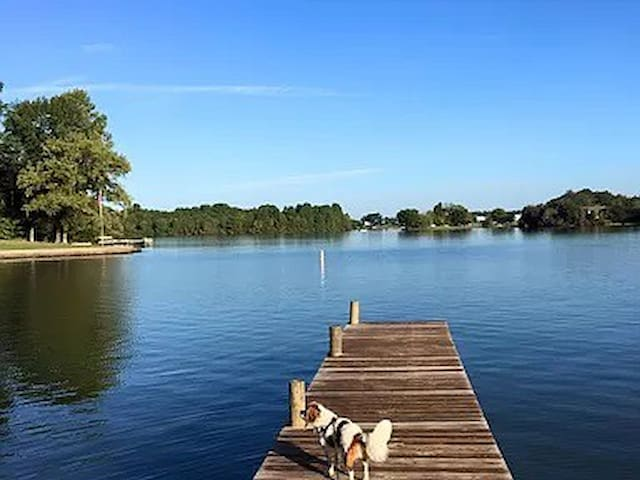 Waterfront Lake Anna for Your Family and Dog