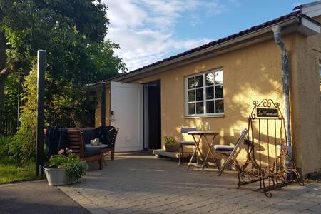 Bästa läget i Kalmarsundsparken i vårt gästhus.