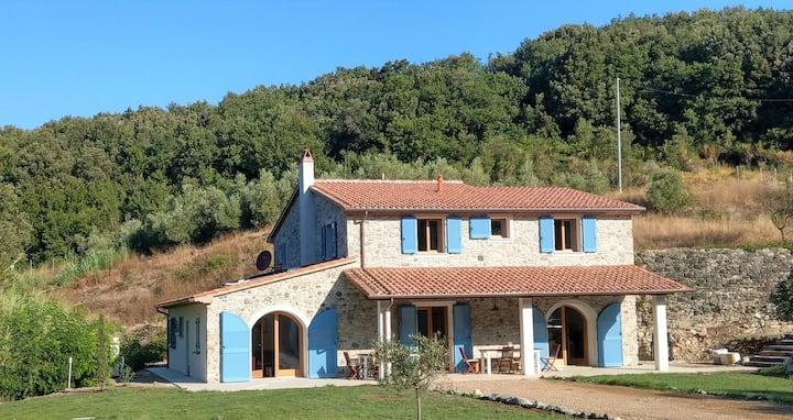 Villa Emma -Toscanaparadiso Zimmer mit eigenem Bad