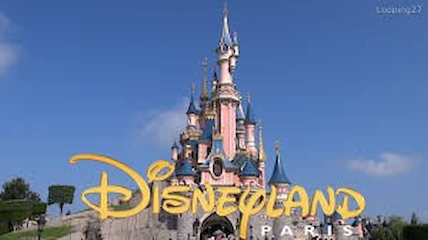 Disneyland paris 4 rooms 8p