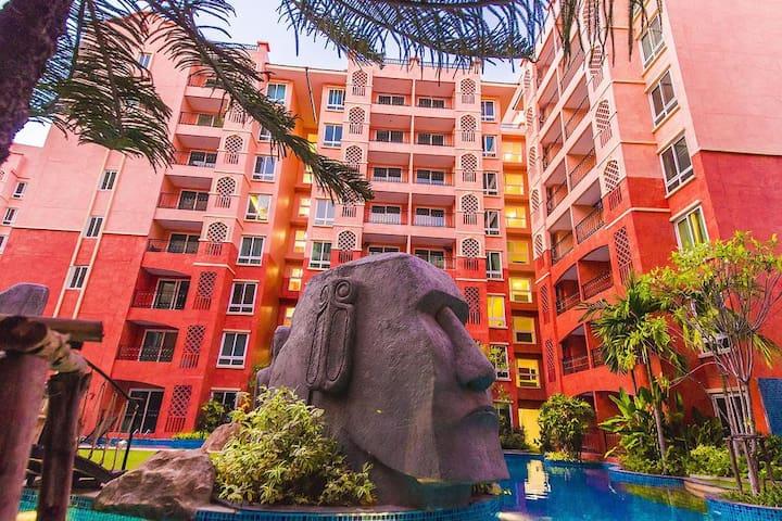 芭提雅七海 一房一厅 水系房  Seven Seas Resort Pattaya
