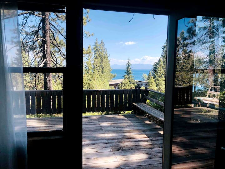 Tahoe Vista Home with a View