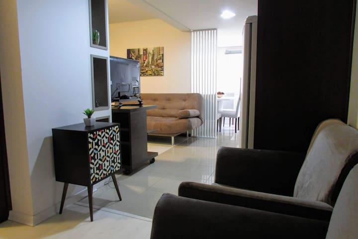 Apartamento casal com localização incrível