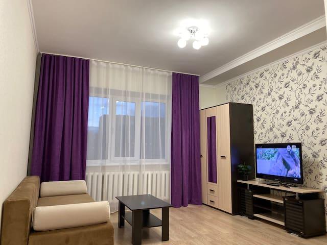 Светлая уютная квартирка в центре города