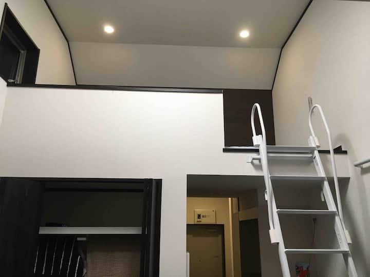 Akigawa JR 160m SEREGA201 Tokyo suburb 2ppl loft
