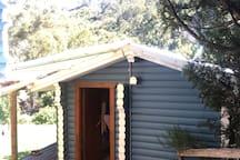Separate small cabin.