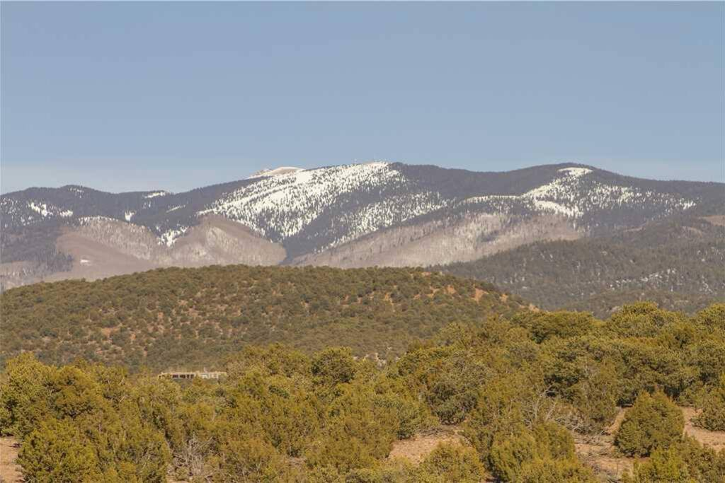 Day dream about the Santa Fe Ski hill from the front patio.