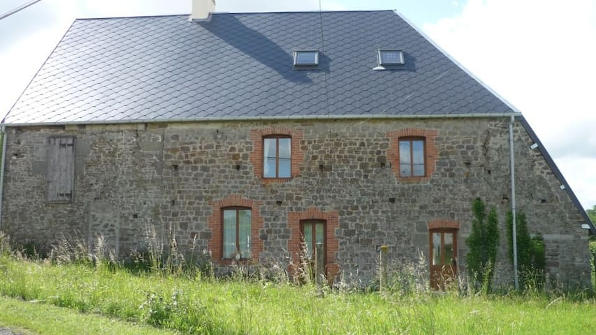 Converted 6 Bed Barn - all Mod Cons - Tessy-sur-Vire - Rumah