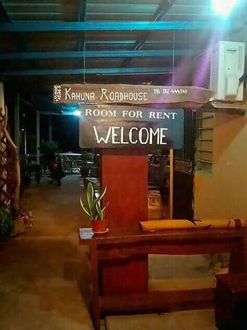 Kahuna roadhouse Daniel room