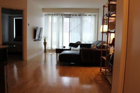 Cozy Byward Market Condo with Patio - Ottawa - Condominium