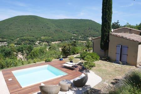 Belle maison provençale, piscine, jardin - Mirmande