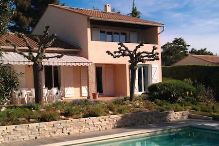 Suite parentale dans villa au calme avec piscine - Cabriès