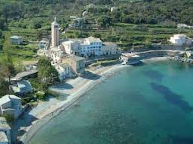 Maison sur la plage de Lavasina Cap Corse
