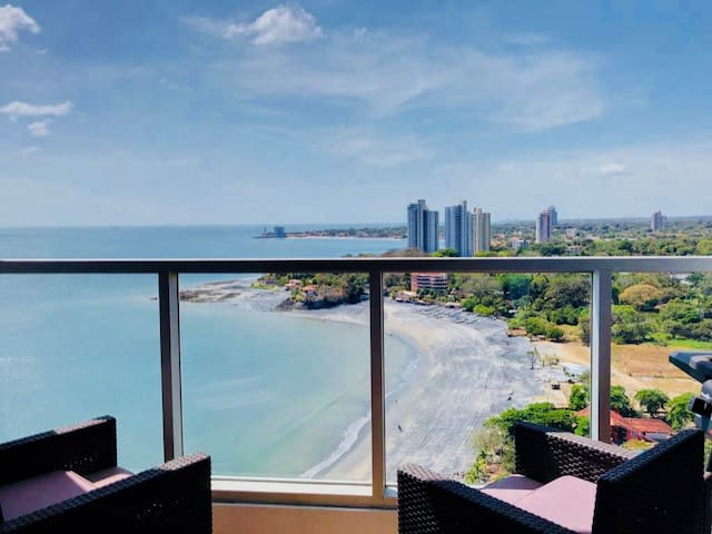 New Beachfront 2 Bdrm Condo Gorgona Panama #2005