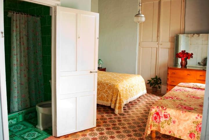 Habitación 2 del Hostal Colonial, a su gusto