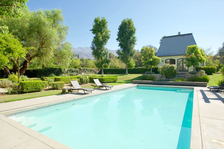 Casa Grande 1 BR Guesthouse in East End of Ojai