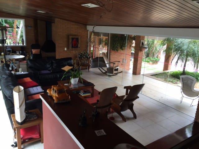 CASA DE CAMPO PATRIMÔNIO DO CARMO - Vargem Grande Paulista - Houten huisje