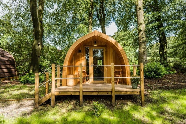 Luxury Lancashire Micro-Lodge, Elm