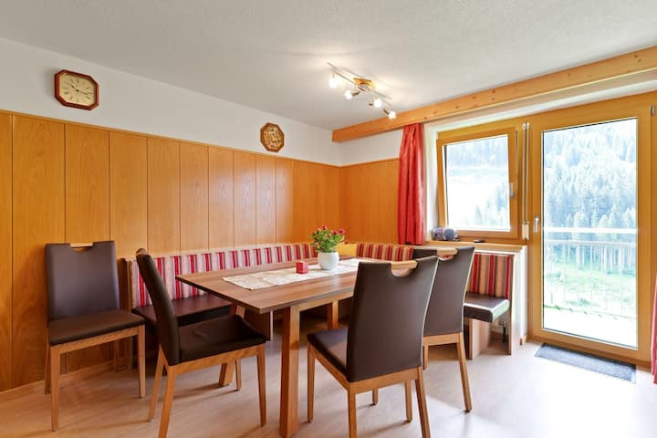 Spacious Apartment in Tyrol with Mountain View