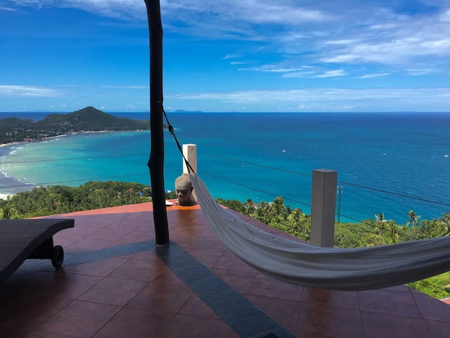 Paradise view villa - amazing sea and island view