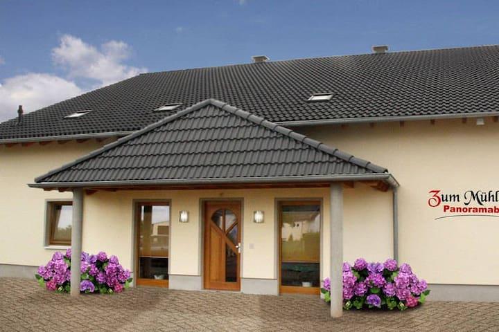 Modern apartment in Mörz in the Hunsrück.