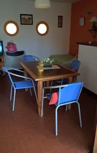 Pinamar departamento luminoso con balcón y cochera - Pinamar - Daire