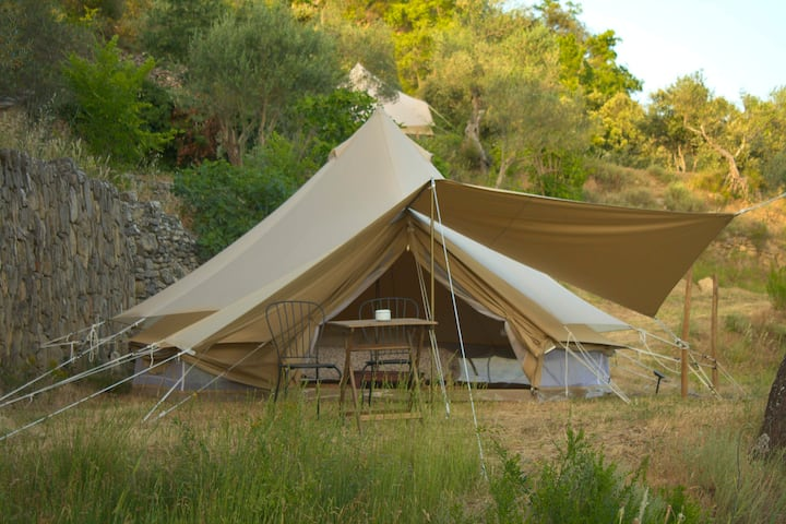 Glamping tent in Nature, Congost de Montrebei