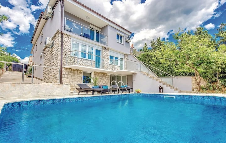 Villa Vinodol *with great sea view and big pool