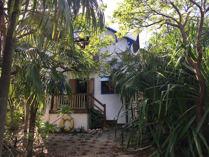 """Heavana""  - 2 bd/1 bath Eco Jungle Cottage"