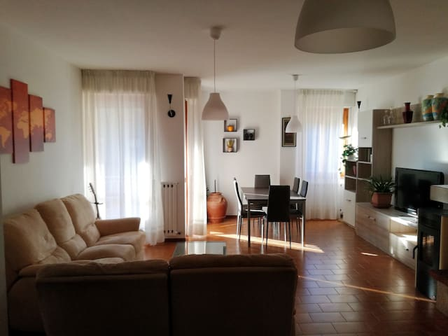 Wide and bright apartment near Spa
