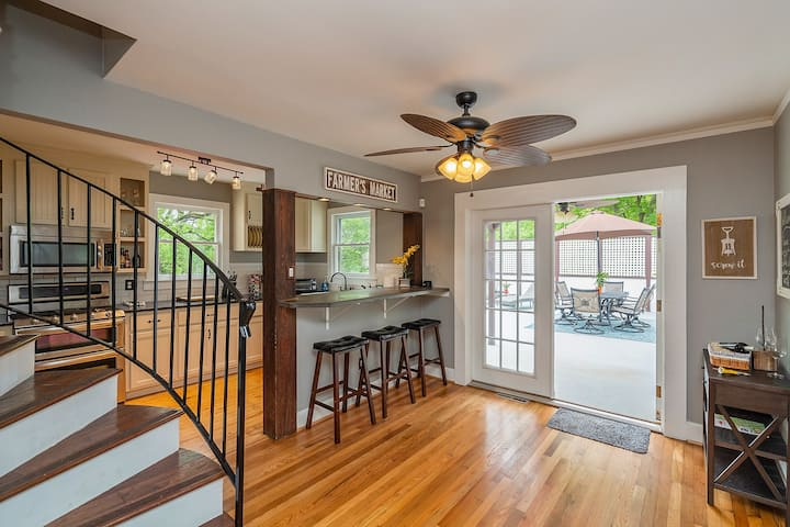 Beautiful newly renovated downtown Greenville home