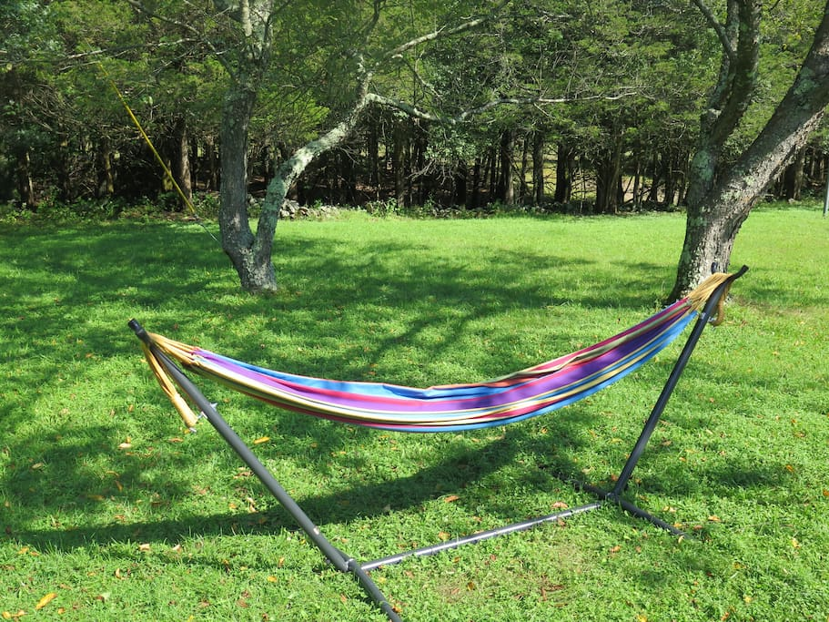 Read or nap in the hammock