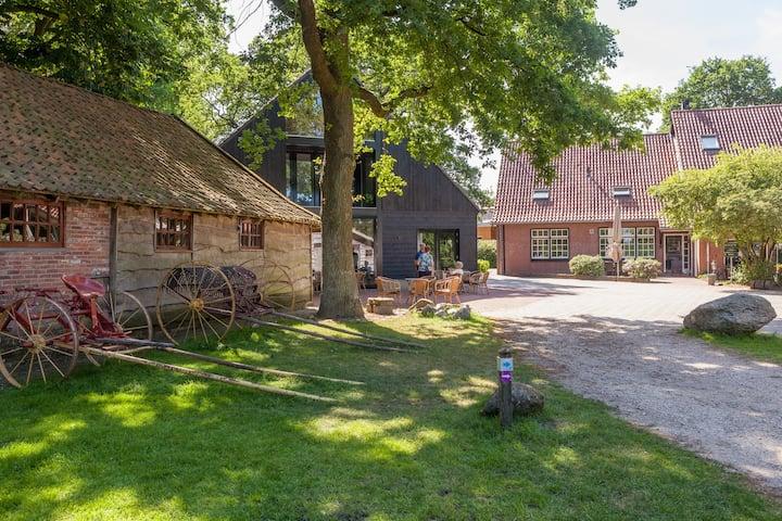 Uniek landgoed in de natuur nabij Ootmarsum
